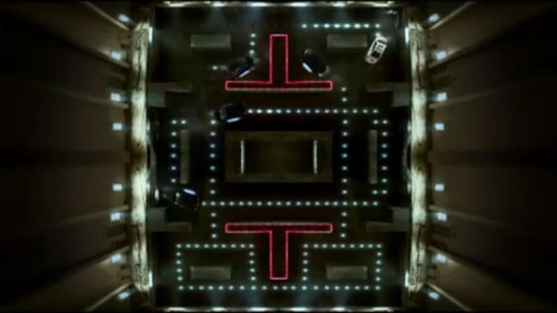 Video: Chevy Cruze used to play live action game of Pac-Man