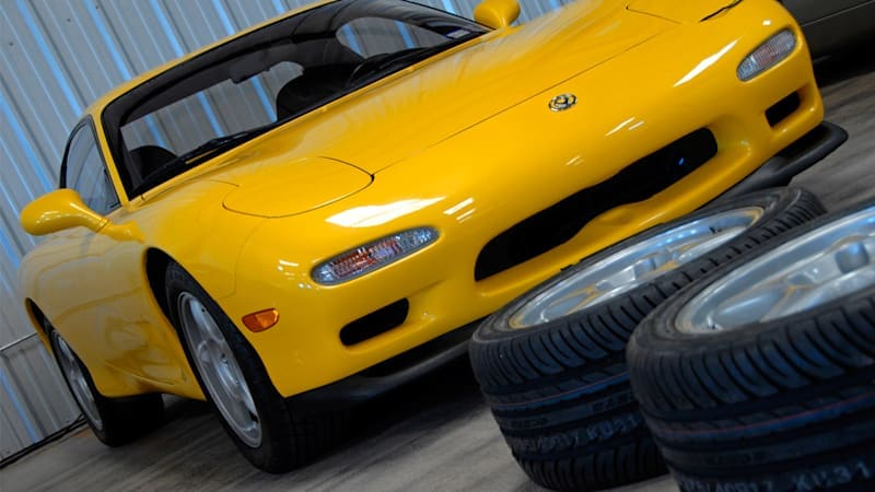 Mazda expands heritage parts program to include the iconic RX-7