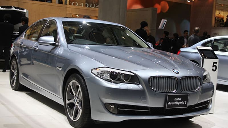 BMW ActiveHybrid 5 might be the ultimate modesty machine