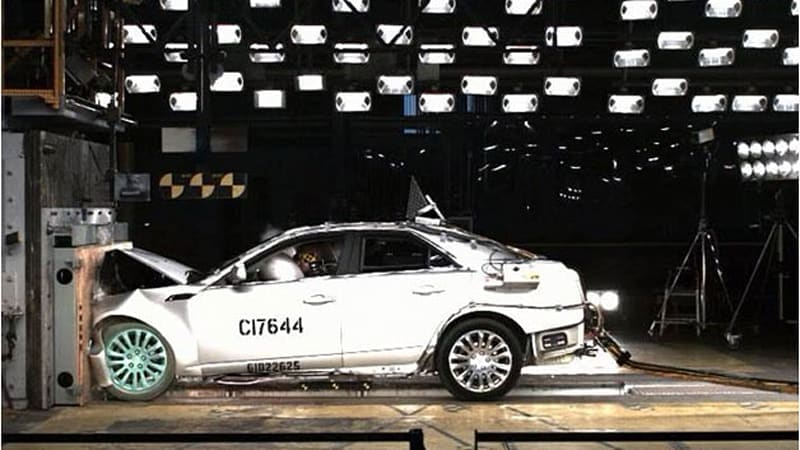 Cadillac CTS and SRX net top NHTSA safety scores [w/video]