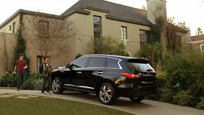 2013 Infiniti JX ad blitz to tip off with NCAA March Madness