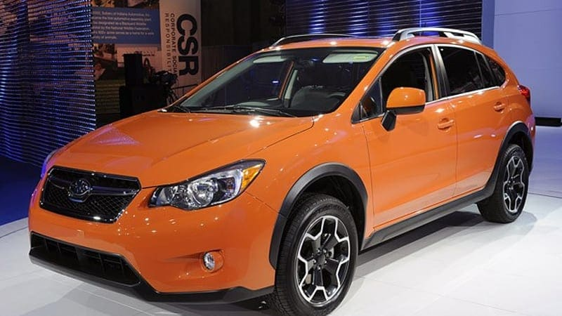 Subaru announces 2013 XV Crosstrek prices to start at $21,995*