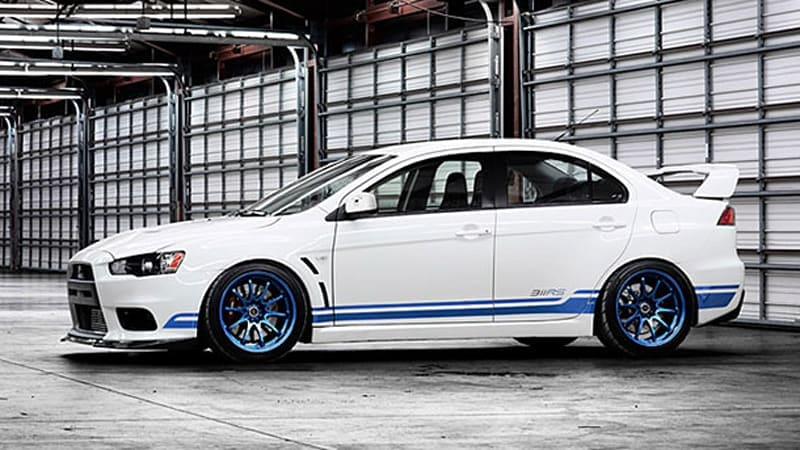 Limited-edition Mitsubishi 311RS Evo X coming to Minneapolis Auto Show [w/video]