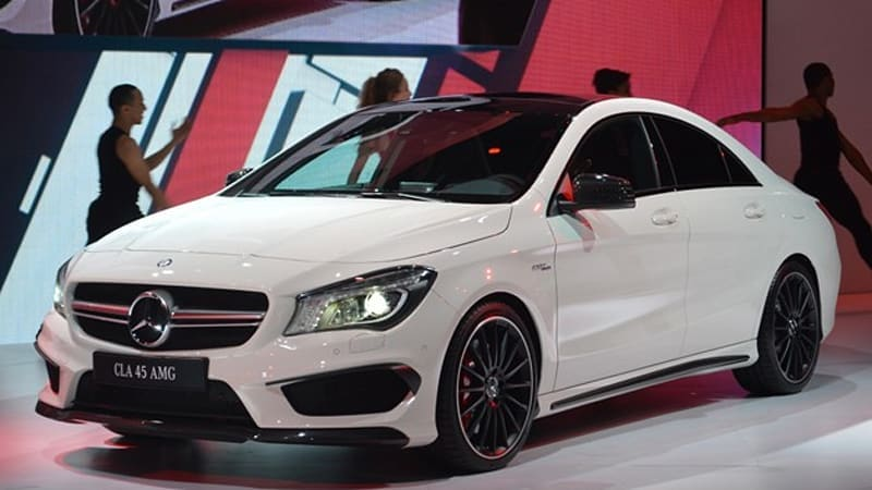 2014 Mercedes CLA45 AMG brings world's most powerful four-cylinder to US [w/video]