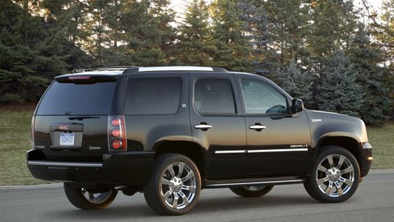 Officially Official: GMC adds hybrid model to Yukon Denali SUV