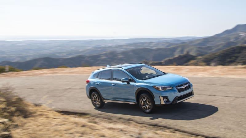 2019 Subaru Crosstrek Hybrid gets top IIHS safety rating