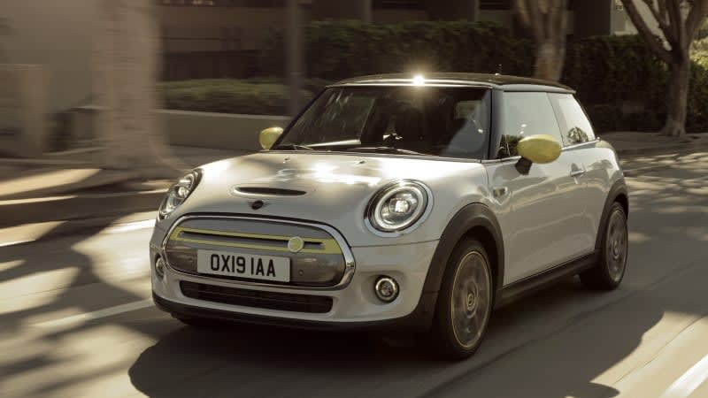 2020 Mini Cooper SE gets a range estimate for America, and it's not great