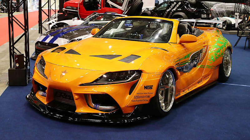 This 2JZ-powered Toyota Supra convertible is actually a Lexus
