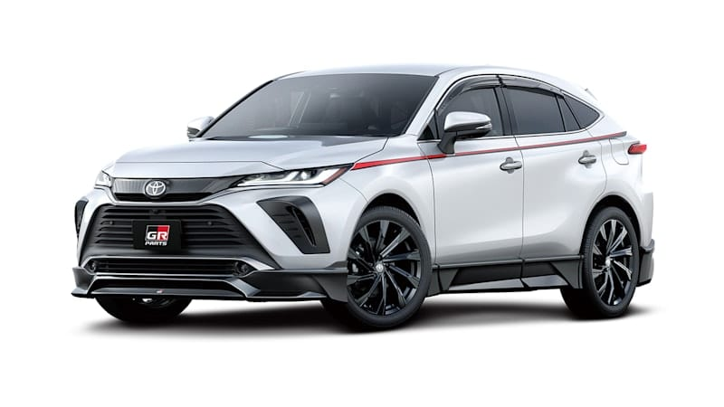2021 Toyota Venza gets aggressive thanks to TRD in Japan