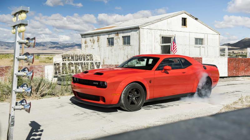 2020 Dodge Challenger SRT Super Stock is as close as you can get to a new Demon