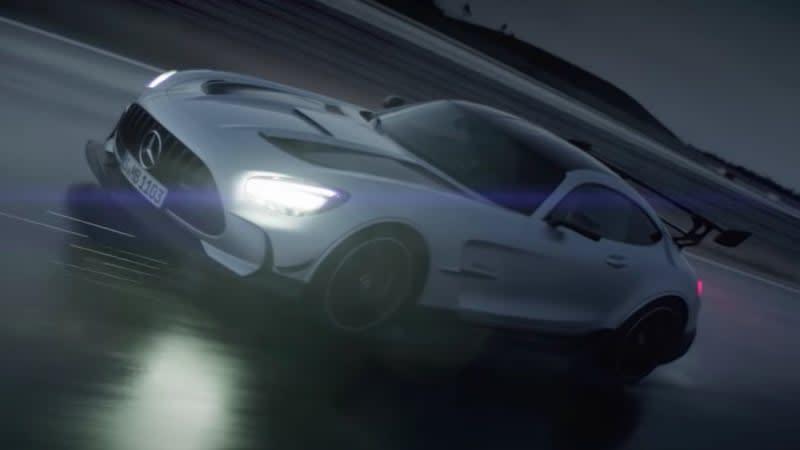 2021 Mercedes-AMG GT Black Series looks hardcore