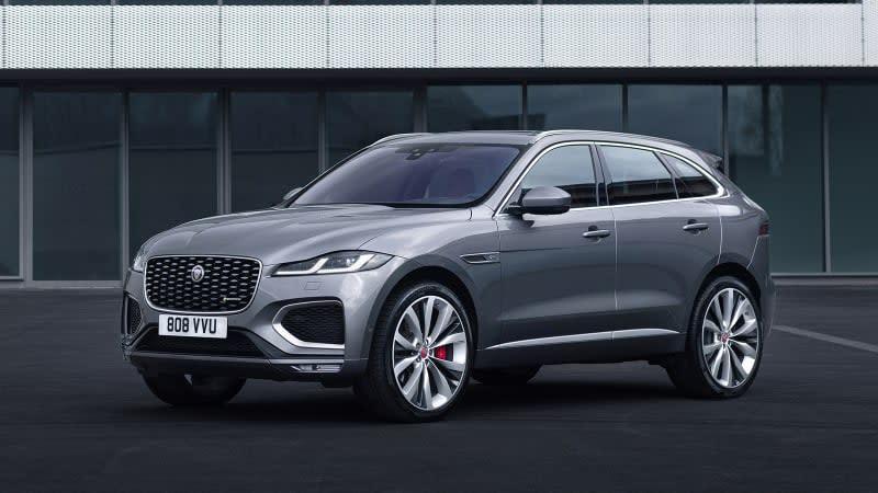 2021 Jaguar F-Pace hides big interior and powertrain changes under familiar sheetmetal