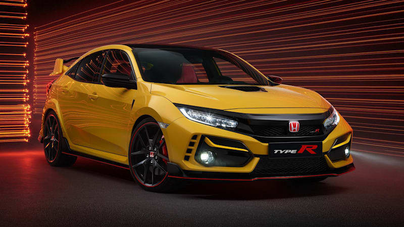 2021 Honda Civic Type R Limited Edition starts at over $40,000