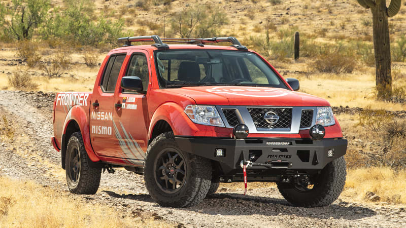 Nissan Frontier gets Nismo off-road goodies, compatible all the way back to 2005