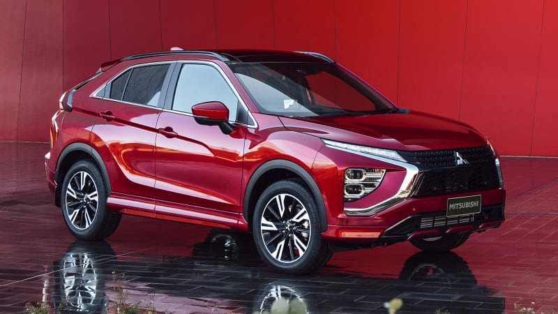 2022 Mitsubishi Eclipse Cross refresh gives the crossover an Aztek-ectomy