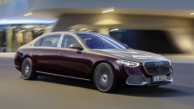 2021 Mercedes-Maybach S 580 revealed as the biggest, most luxurious S-Class