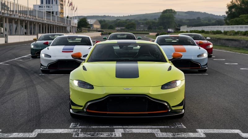 Aston Martin unveils aero kit and Heritage Racing Editions for Vantage