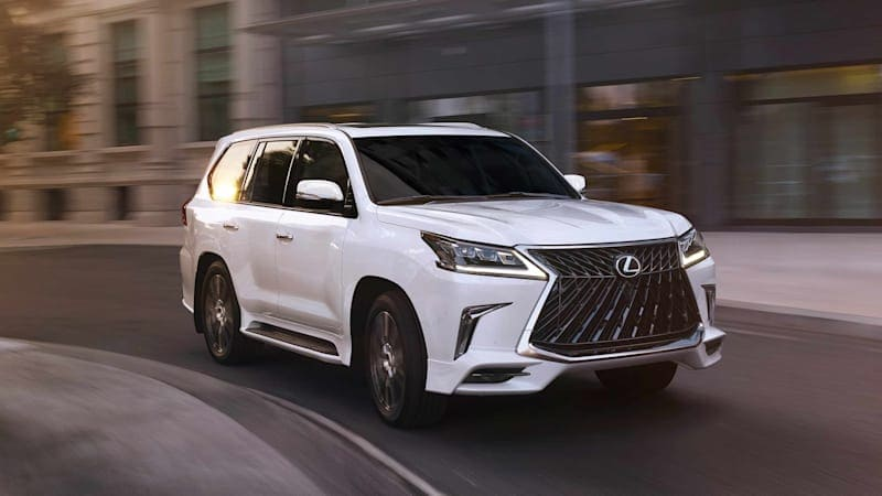 2020 Lexus LX 570 Sport Package is sporty like tube socks