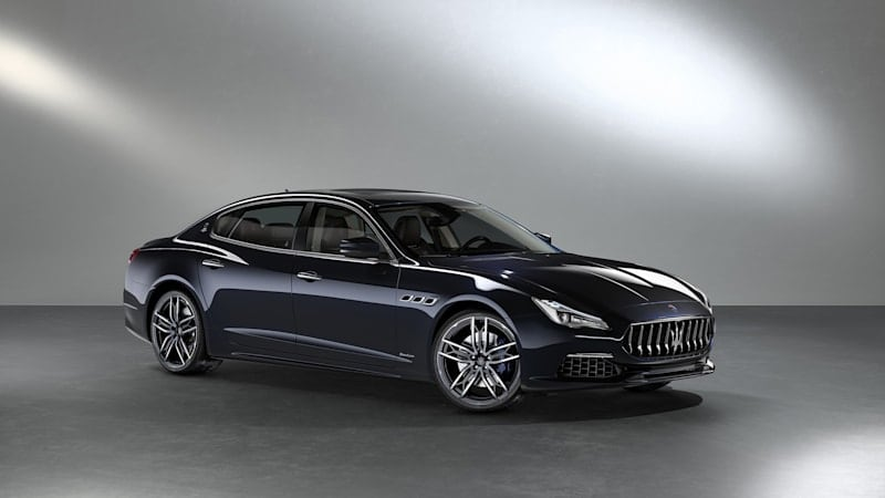Limited woven-leather Maserati Quattroporte and Levante headed to Monterey