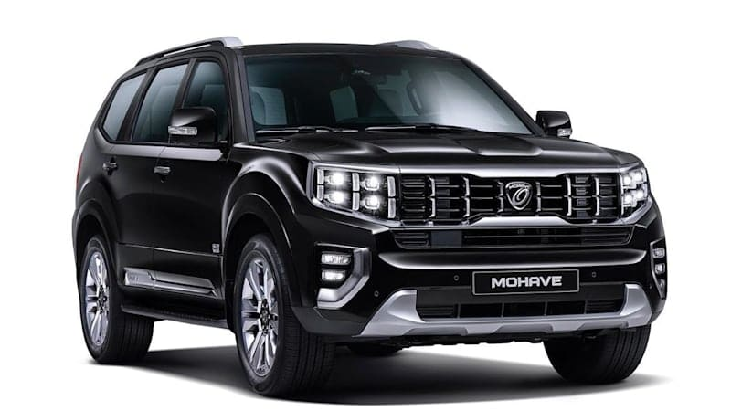 Kia reveals images of updated 'Mohave the Master' SUV