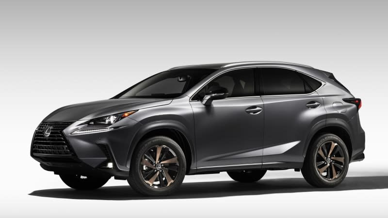 The Lexus sprinkles bronze on the 2020 NX 300 Black Line Special Edition