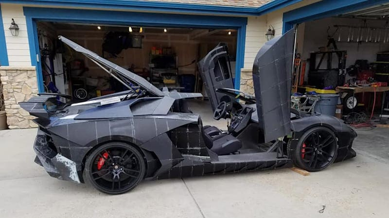 Dad 3D-printed a Lamborghini because his son liked one in Forza