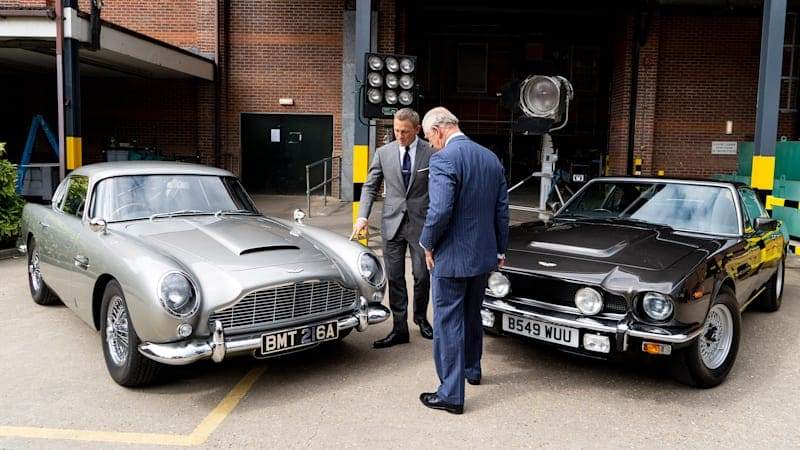 Catch these four Aston Martins in Bond 25, 'No Time to Die'