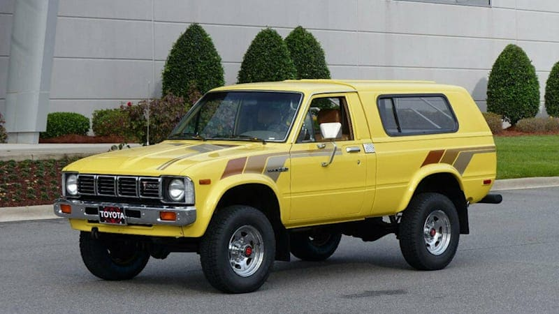 eBay Find   This 1981 Toyota Trekker is the real retro deal