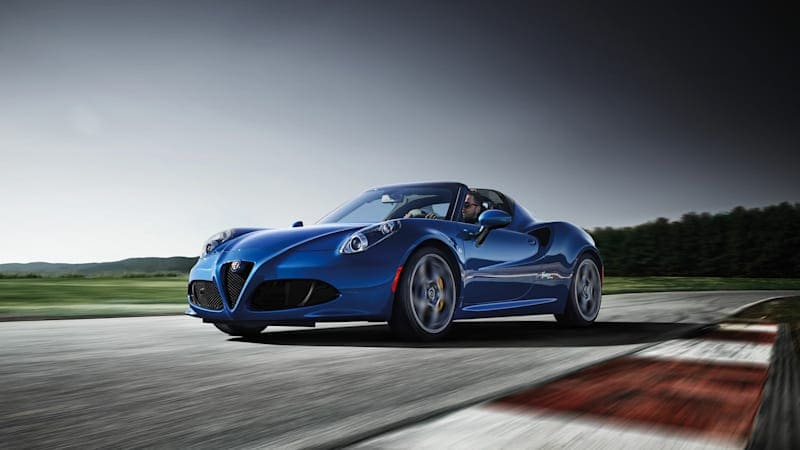 Alfa Romeo 4C Spider reportedly dead in Europe, only dealer stock remains