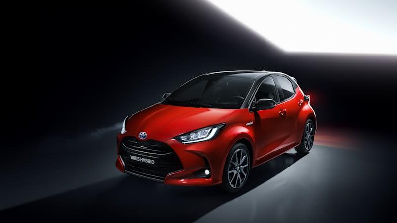2020 Toyota Yaris global car is an all-new hybrid