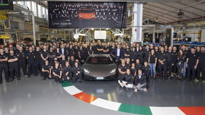 Lamborghini has built more Huracans in 5 years than it did Gallardos in 10