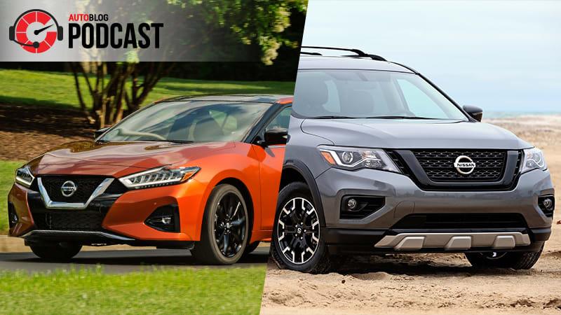2020 Nissan Maxima and Pathfinder Rock Creek | Autoblog Podcast #602