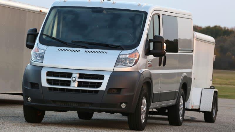 Fiat Chrysler to recall 100,000 Ram ProMaster vans over engine fire risk