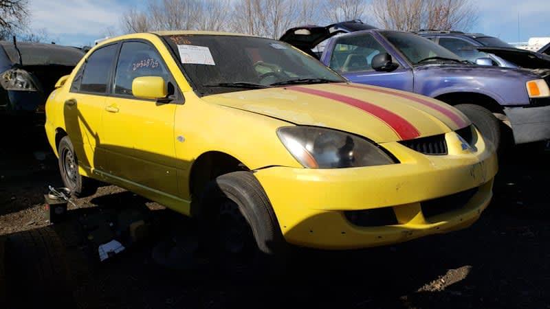 Junkyard Gem: 2005 Mitsubishi Lancer Ralliart Sedan
