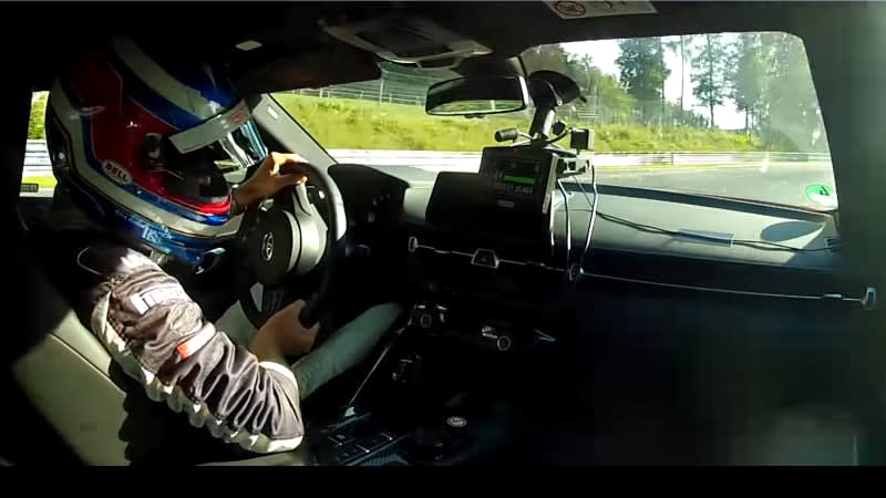 Ride along as Toyota Supra laps Nurburging in 7:52:17 in this cockpit view