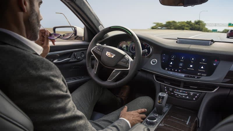 Cadillac Super Cruise costs $25 per month as a standalone plan