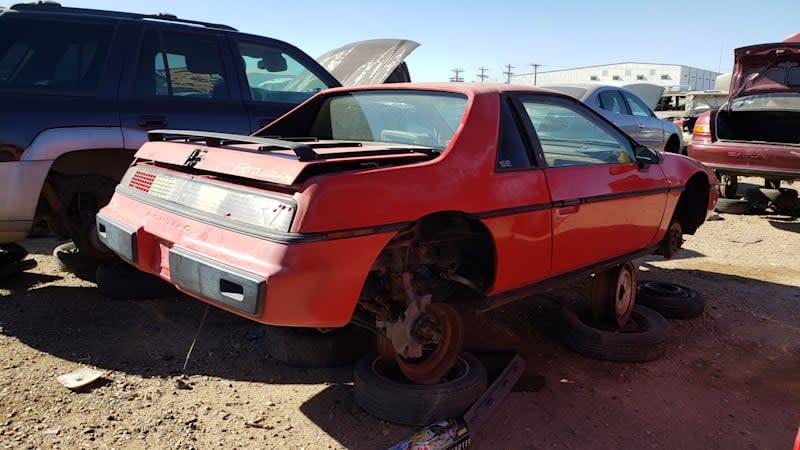 Junkyard Gem: 1984 Pontiac Fiero with supercharged 3800 V6 swap
