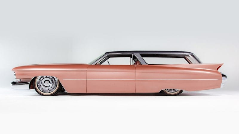 The CadMad shooting brake Eldorado Brougham-Nomad cross is up for auction