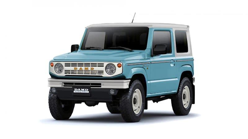 Suzuki Jimny transforms into an adorable tiny Ford Bronco