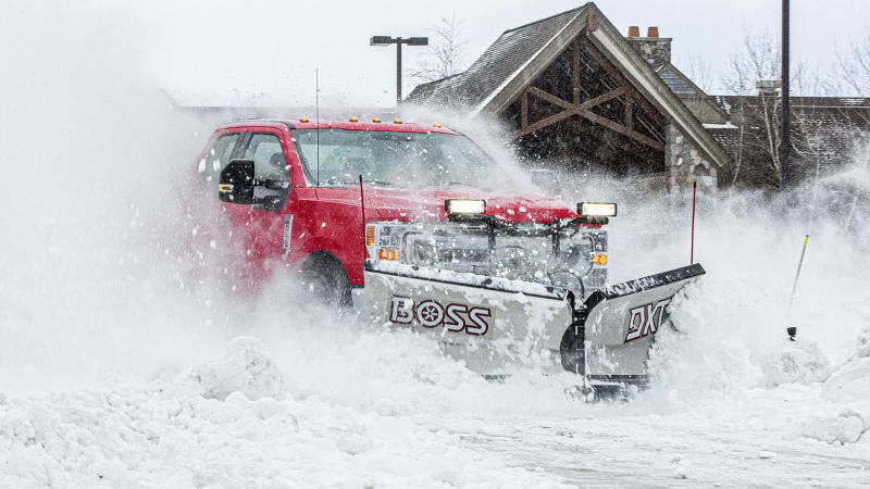 2020 Ford Super Duty Snow Plow Prep Package is heavyweight champ