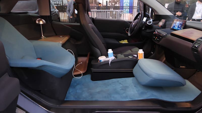 We rode in the BMW i3 Urban Suite to see what small-scale luxury is like
