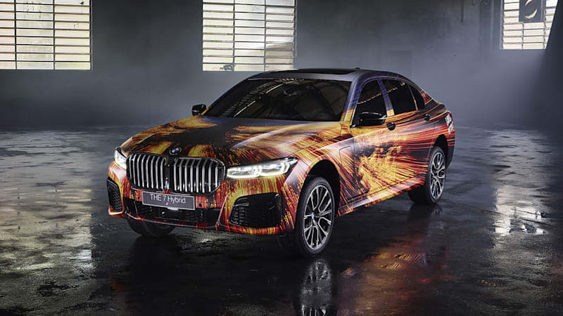 Gabriel Wickbold cements the BMW 745Le PHEV in art car history