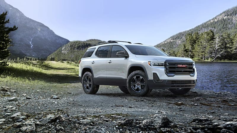 2020 GMC Acadia AT4 Review   A soft-roader in steel-toed boots