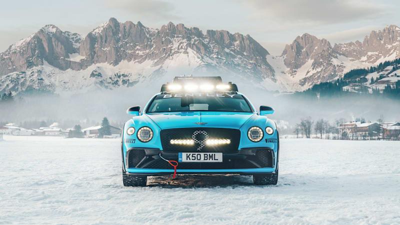 Bentley unveils Continental GT ice racer