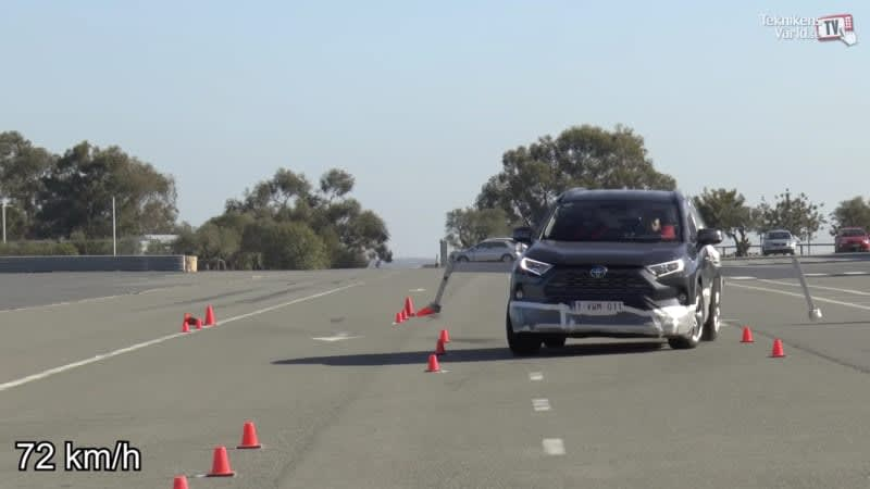 Toyota RAV4 passes moose test after electronic stability upgrade