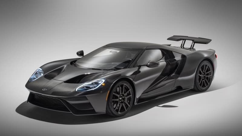 2020 Ford GT gets more power, full carbon fiber body in surprise update