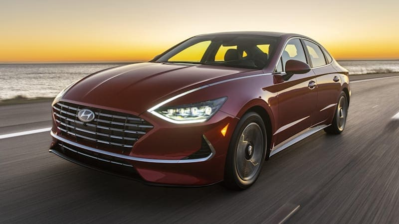 2020 Hyundai Sonata Hybrid pricing announced