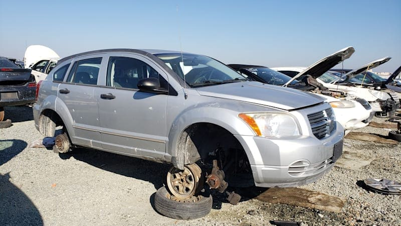 Junkyard Gem: 2007 Dodge Caliber SXT with 5-speed manual transmission