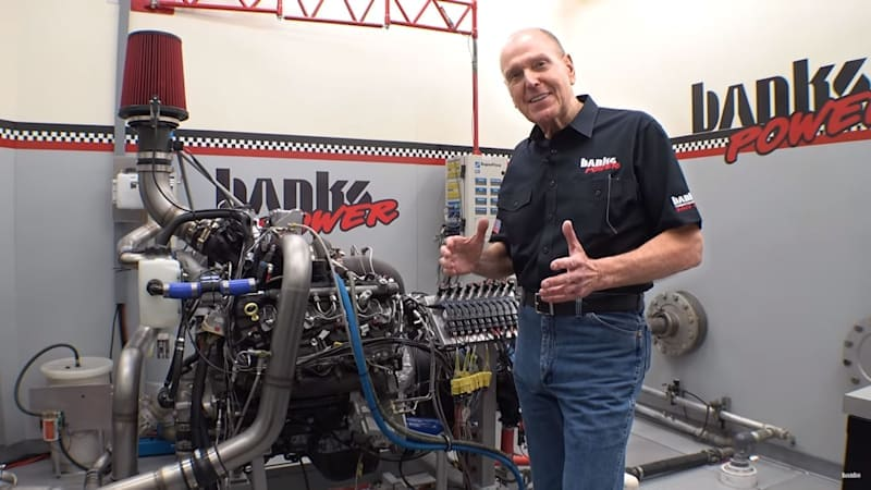 'Killing a Duramax' Gale Banks YouTube series methodically tunes a diesel to death
