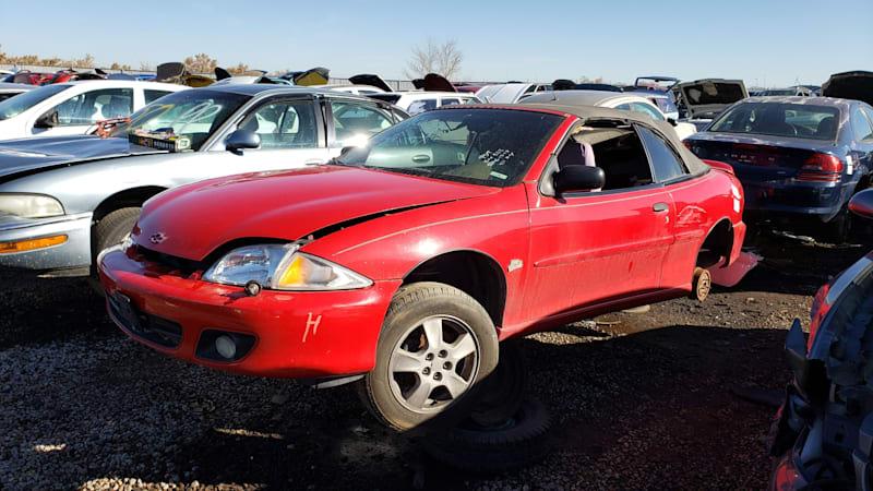 Junkyard Gem: 2000 Chevrolet Cavalier Z24 Convertible